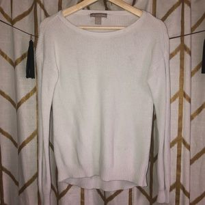 Banana Republic White Long Sleeve